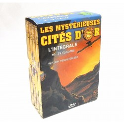 COFFRET 4 DVD LES MYSTERIEUSES CITES D'OR 39 EPISODES SAISON 1