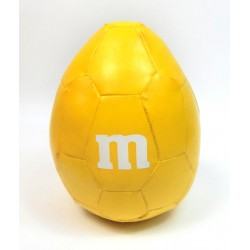 BALLON CACAHUETE M&M'S JAUNE M-BALL