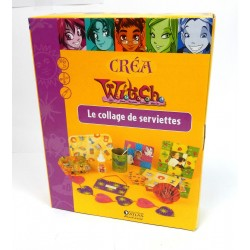 BOITE D'ACTIVITES MANUELLES COLLAGE DE SERVIETTES CREA WITCH
