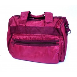 SAC A MAIN BORDEAUX 100% POLYESTER