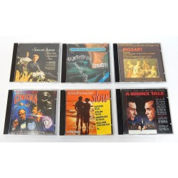 LOT 6 CD AUDIO ASSORTIS SLOW-MOZART-CINEMA-SIMON & GARFUNKEL ...
