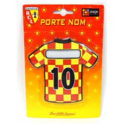 PORTE NOM POUR PORTE DE CHAMBRE RACING CLUB DE LENS RCL