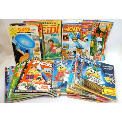 LOT 41 MAGAZINES ENFANT JOURNAL DE MICKEY-DONALD MAGAZINE-PICSOU MAGAZINE...