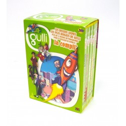COFFRET 5 DVD GULLI DESSINS ANIMES AIR ACADEMY-URMEL- WHEEL SQUAD-...