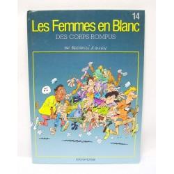 BANDE DESSINEE BD LES FEMMES EN BLANC BERCOVICI ET CAUVIN TOME 14
