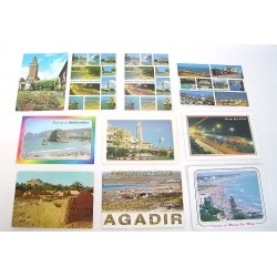 LOT 50 CARTES POSTALES ASSORTIES PARIS-FIRENZE-EGYPTE-MAGHREB-FRANCE