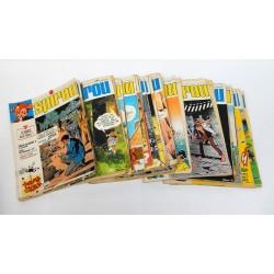 JOURNAL DE SPIROU ANNEE 1973 LOT DE 40 NUMEROS