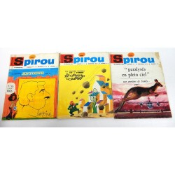 JOURNAL DE SPIROU ANNEE 1967 N°1500-1501-1502