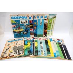 JOURNAL DE SPIROU ANNEE 1968 LOT DE 24 NUMEROS