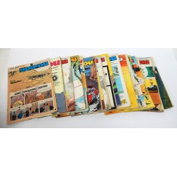 JOURNAL DE SPIROU ANNEE 1971 LOT DE 29 NUMEROS