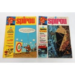 JOURNAL DE SPIROU ANNEE 1974 N°1914 ET 1915