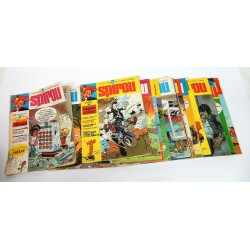 JOURNAL DE SPIROU ANNEE 1975 LOT DE 17 NUMEROS