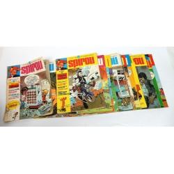 JOURNAL DE SPIROU ANNEE 1975 LOT DE 17 NUMEROS
