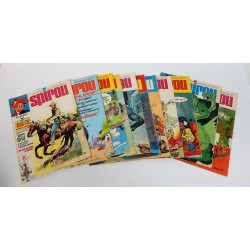 JOURNAL DE SPIROU ANNEE 1976 LOT DE 11 NUMEROS