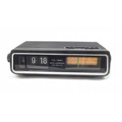 RADIO REVEIL VINTAGE A LAMELLES FLIP FLAP TX-1001