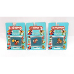 LOT DE 3 PINS COLLECTOR NINTENDO SERIES A