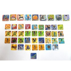 LOT 44 STAKS DRAGONBALL Z - POKEMON - YU-GI-OH