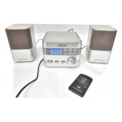 MICRO CHAÎNE RADIO CD STEREO WELLTECH