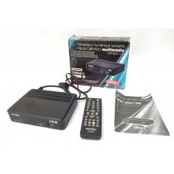 RECEPTEUR TNT HD OPTEX ORT8897 PERITEL ET HDMI