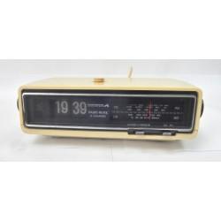 RADIO REVEIL VINTAGE A LAMELLES FLIP FLAP PATHE MARCONI