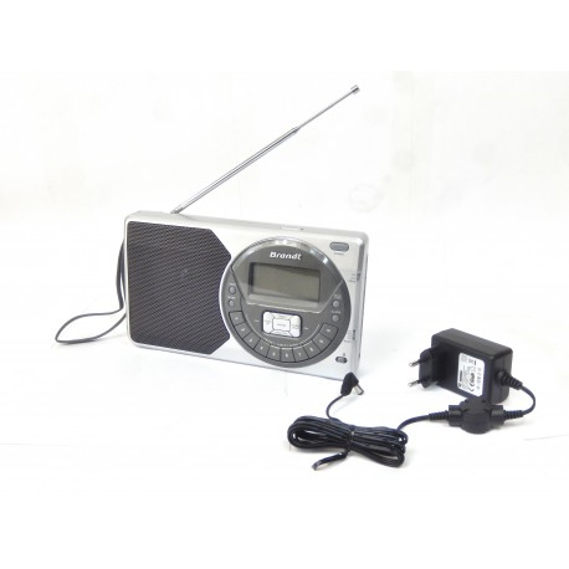 RADIO DIGITALE PORTABLE BRANDT BR200D