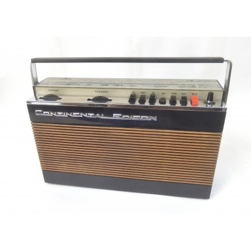 RADIO A TRANSISTORS CONTINENTAL EDISON TR455