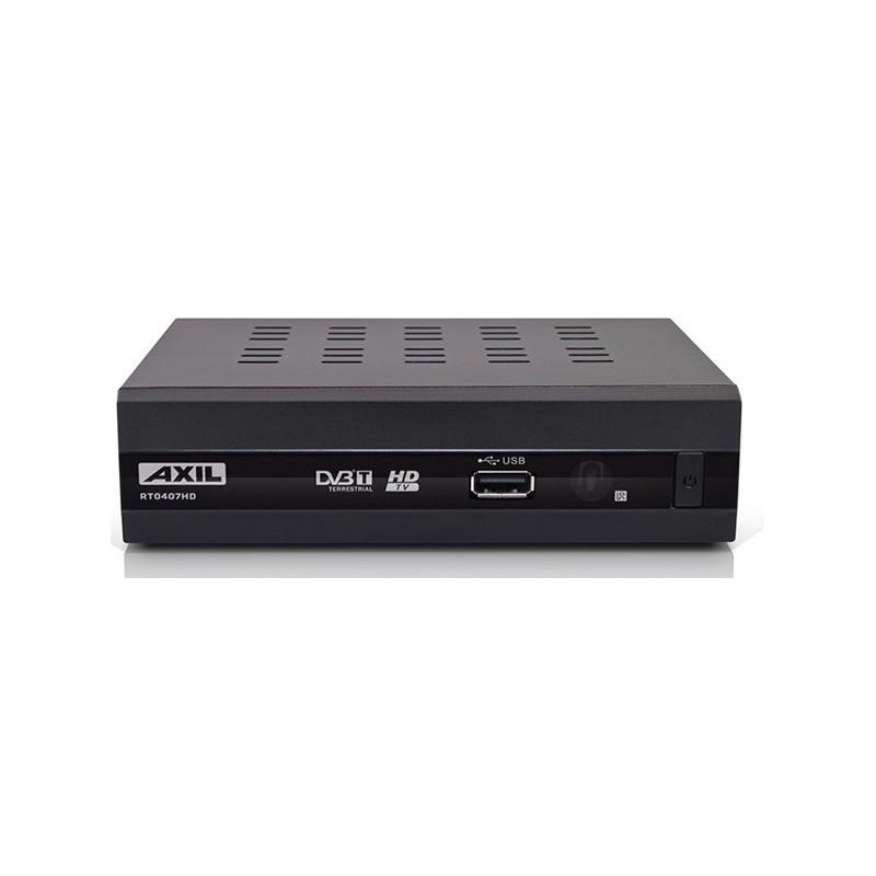 RECEPTEUR TNT AXIL RT0407 HD AVEC FONCTION MAGNETOSCOPE