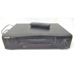 MAGNETOSCOPE VHS PHILIPS VR210 TURBO DRIVE