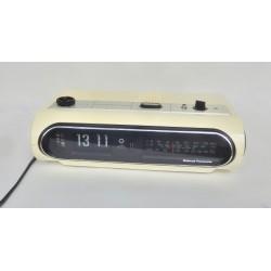RADIO REVEIL VINTAGE A LAMELLES FLIP FLAP NATIONAL PANASONIC