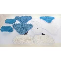LOT 12 MICROFIBRES POUR BALAI VAPEUR H2O MOP X5