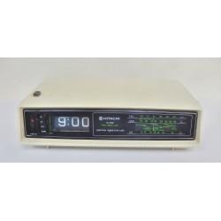 RADIO REVEIL DIGITAL VINTAGE HITACHI KC-550E