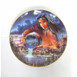 """ASSIETTE COLLECTOR """"THE WATERS OF LIFE"""" ROYAL DOULTONNUMEROTE"""