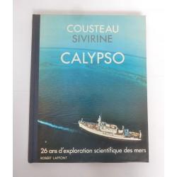 LIVRE CALYPSO JACQUE-YVES COUSTEAU-ALEXIS SIVIRINE