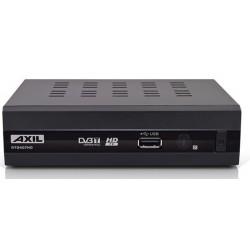 RECEPTEUR TNT AXIL RT0407 HD AVEC FONCTION ENREGISTREMENT